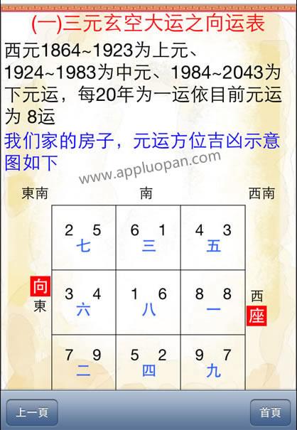 台湾三元玄空电子罗盘软件截图